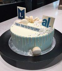 One Year Anniversary Cake