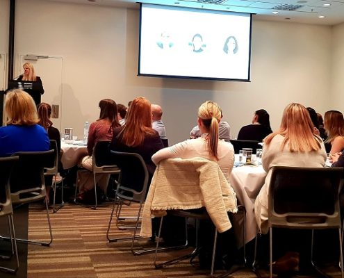 Kerry Le Strange Attwood Marshall presenting at the LawMaster User Group Conference