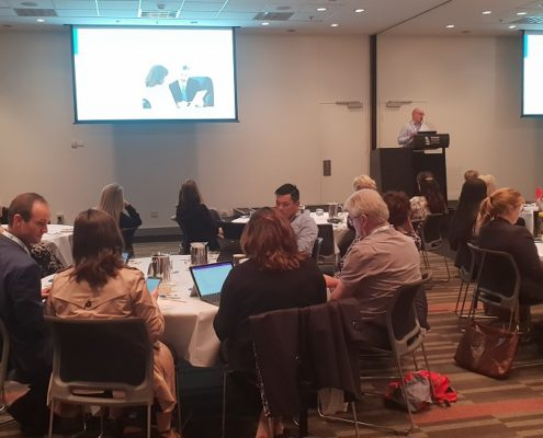 Richard Greenaway Anderson Lloyd presenting at the LawMaster User Group Conference